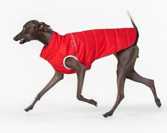 Greyhound warm jacket, warm jacket, winter jacket, jacket for dog, dog jacket, dog wear, giftdog clothes