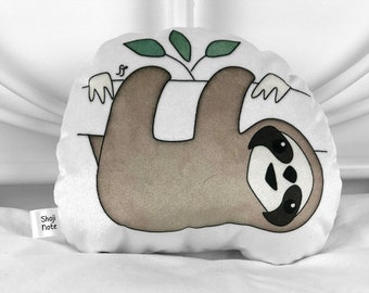 Small sloth plush toy Sloth gift Stuffed animal pillow Sloth plushie Gender neutral nursery decor Baby gift