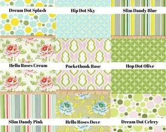 Heather Bailey Fabric Nicey Jane Collection FREE SHIPPING