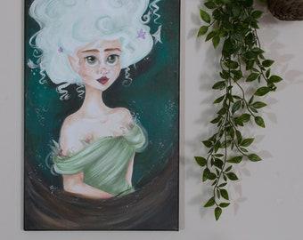 Tilly Acrylic on Canvas