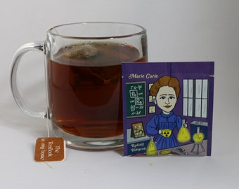 EqualiTEA & Scientists Series - Marie Curie - 20pk  - Radiant Hibiscus