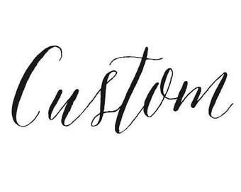 Custom Reserved Listing for jhsmiley72-WREATH HANGER
