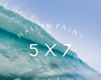 5 x 7 · printed and mailed design by salt & cove!