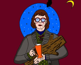 Log Lady (Twin Peaks) PRINT