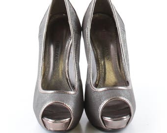 Just Fabulous Metallic Heels