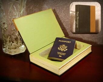 Hollow Book Safe - Vintage 1966 Papa Hemingway - Secret Book Safe