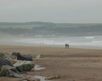 Sandsend in Winter