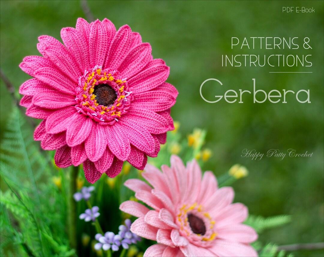 Crochet gerbera pattern crochet gerbera daisy flower pattern zoom izmirmasajfo