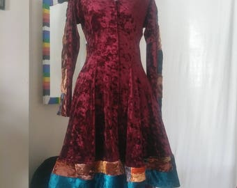Velvet Gypsy Upcycled Dress/Coat