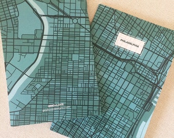 Philadelphia Map Notebook