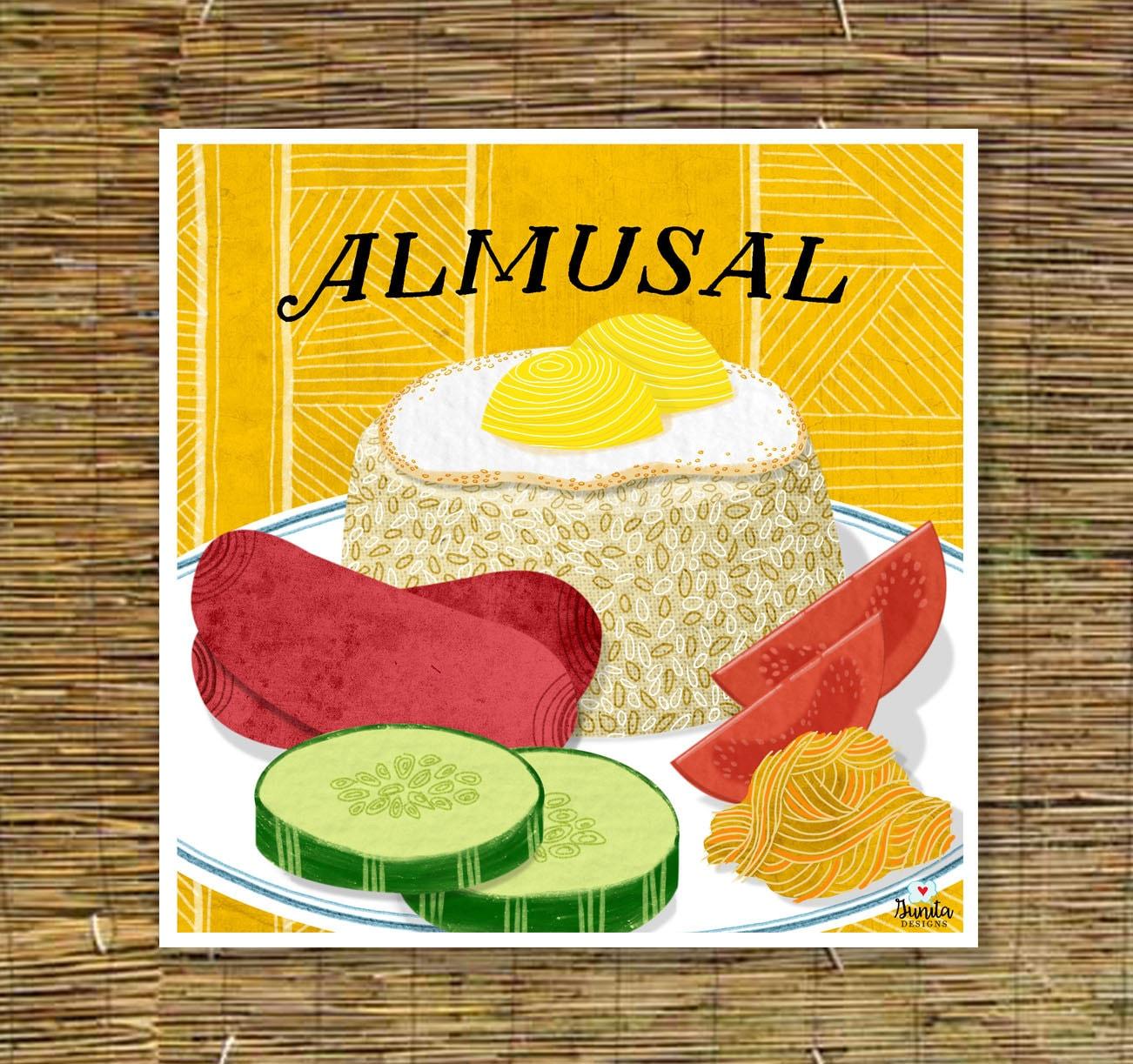 Almusal Kitchen Art Filipino Art Print Tagalog