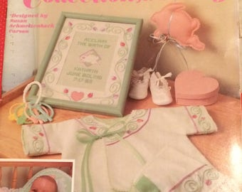 Cottontail Collection for Baby Leisure Arts 1047 Baby Gifts to Stitch