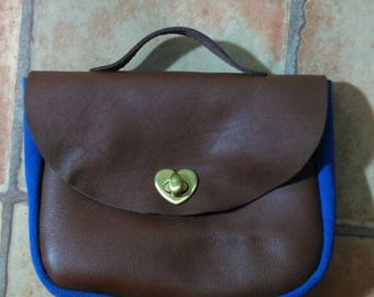Handmade Italy leather Bag