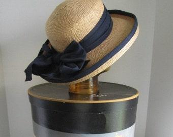 Classic Beach Hat Womens Straw Hat Fedora Hat Kentucky Derby Hat Womens Hat Summer Hat Beach Accessories Gardeners Hat Womens