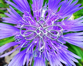 Dragonfly Celtic Knot Necklace