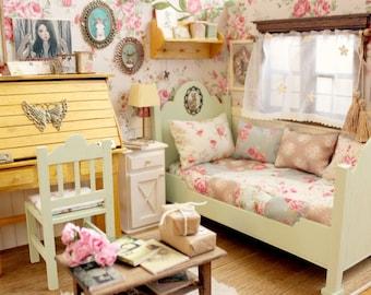 Heart of Mori - Bedroom Diorama - Blythe/Pullip/Lati/Pukifee/Yosd/BJD