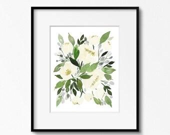 Winter Flowers - INSTANT DOWNLOAD