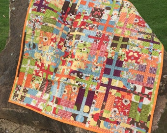 Bright Patchwork Quilt