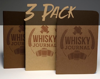 Whisky Tasting Journal (3 Pack)