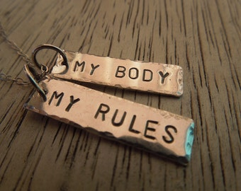 My Body My Rules - 10 dollar donation to Planned Parenthood with purchase - Pro Choice