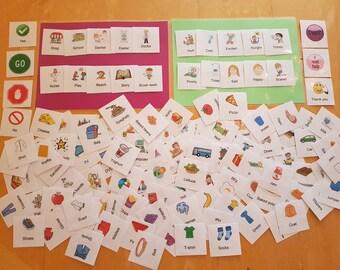 Bumper Pack Of Communication Cards - SEN / Autism, PECS