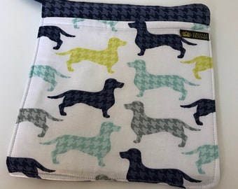 Dachshund / Sausage Dog Kitchen Single Pot Holder