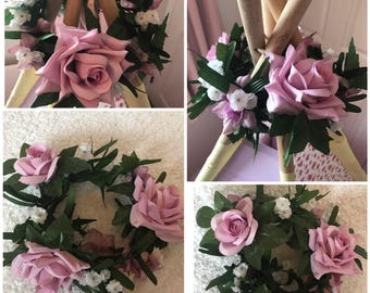 Teepee wigwam crown topper floral garland