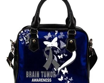 Brain Tumor Awareness Shoulder Bag / Handbag