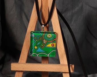 OTHER world / pendant is an original painting