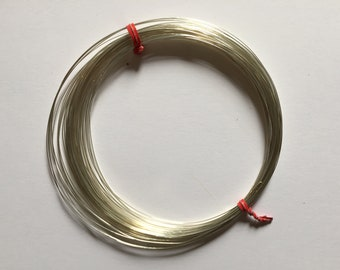 Sterling Sliver Round Wire. 26 gauge Soft Wire. 10 feet length. bulk packages.
