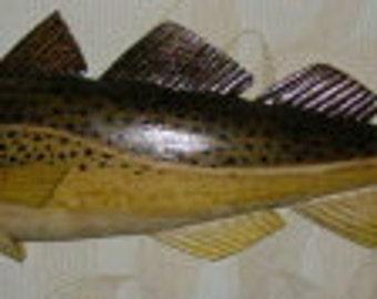 Cod Fish sculpture