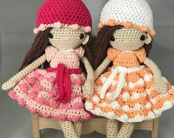 MADE TO ORDER - Mary doll with beanie  - Amigurumi / gift / toy
