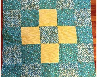 Handmade baby play blanket