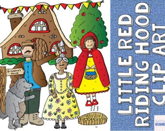 Red Riding Hood Clip Art