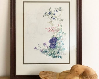 Floral Framed Picture