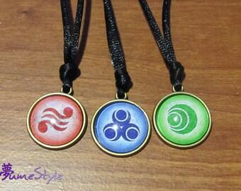 Goddess Pearls - Set of Three Pendants
