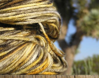 Worsted Weight Yarn - BFL Wool Superwash -   Tortoise Mural