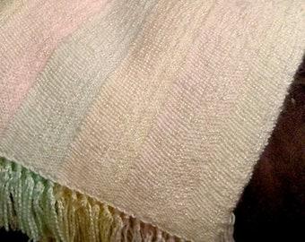 Custom handwoven baby blanket