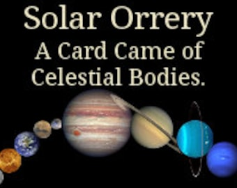 Solar Orrery, a card game of astronomy