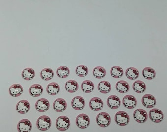cabochon is Hello Kitty 12 mm