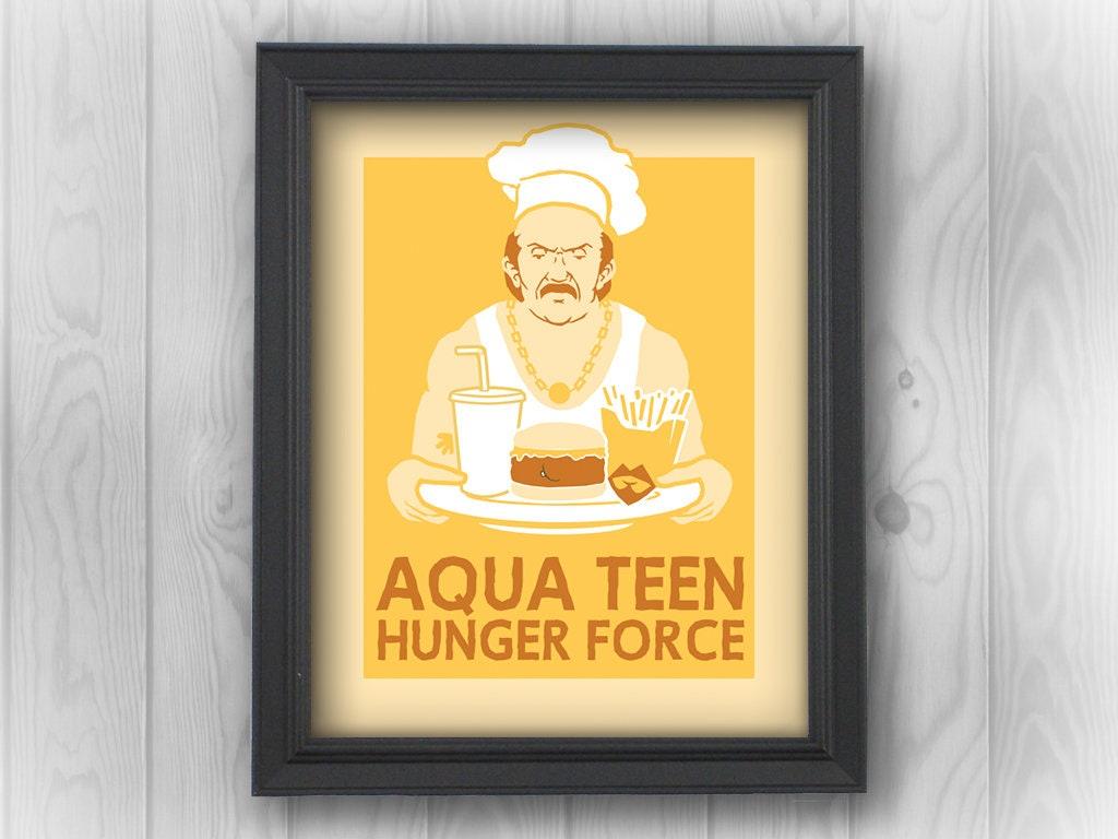 ATHF Aqua Teen Hunger Force, Master Shake, Meatwad, Frylock, Carl ...