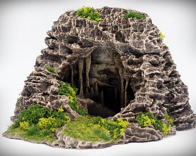 Entryway - Print your own!- DIGITAL FILE – Miniature Wargaming & RPG rock formation terrain