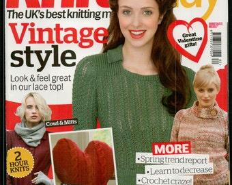 Knit Today Knitting Magazine Issue 82 February 2013