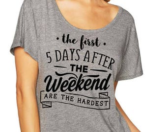 Womens Tshirt, Womens top, Womens shirt, Womens tee, Ladies Shirt, TShirt, Lounge Shirt, scoop neck shirt, Loose shirt, quote Shirt