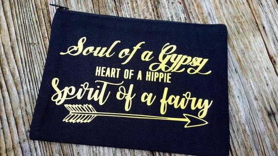 Gypsy HIppie Fairy Makeup Bag