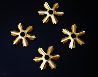 Vintage , 1950s  Brass Stampings, spacer Jewelry Findings, 30 pcs. /GH25