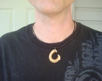 Bone Necklace - Boho Necklace - Rustic Necklace - Tribal Necklace - Mens Necklace - Limited Edition