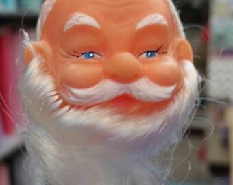 "Plastic Santa Head on Wire, 1 3/4"", Mangelsen's 157-37 (22)"