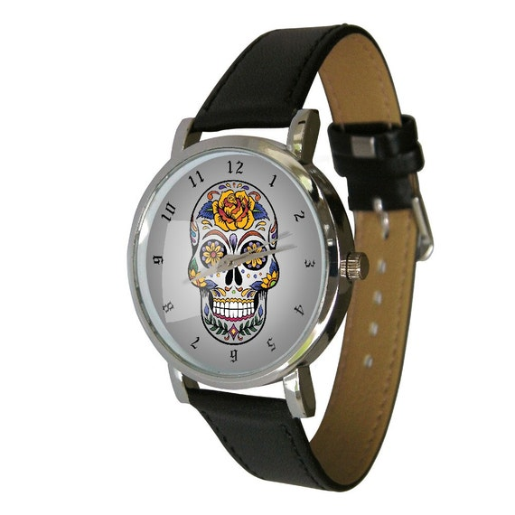 Mexican Sugar Skull Watch Sugar Skull Drawing Day Of The