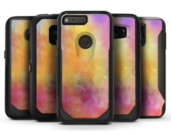 Dark 4 Absorbed Watercolor Texture - OtterBox Case Skin-Kit for the iPhone, Galaxy & More